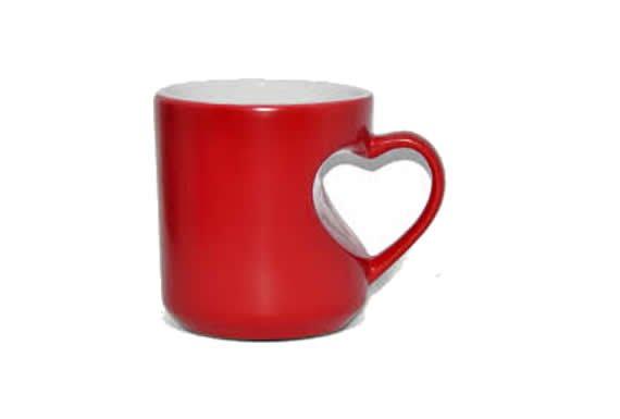 Kırmızı Kalp kupa