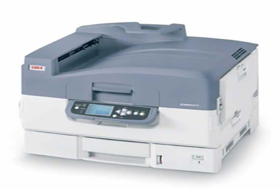 OKI PRO 9420WT Beyaz Tonerli A3 Yazıcı